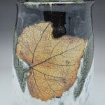Bold Contrast Wine Chiller with Leaf Imprint